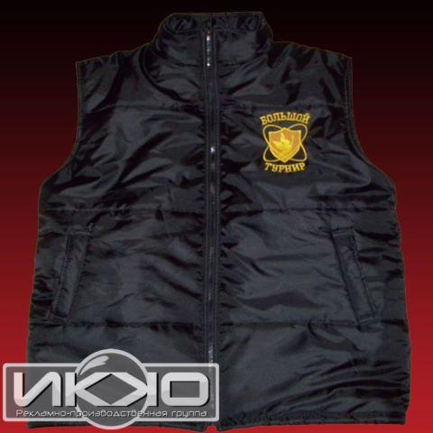 Пошив жилетов на заказ с логотипом   Компания РПГ «ИККО»